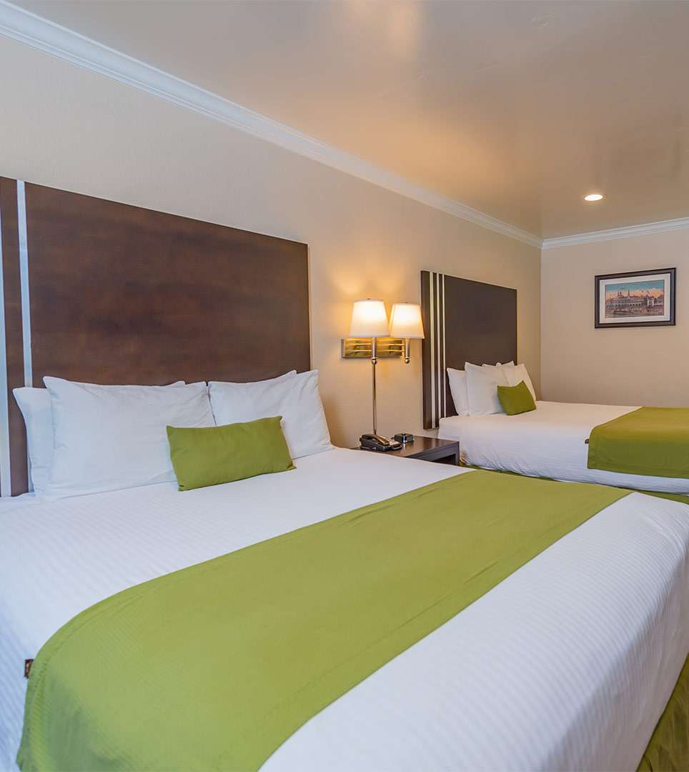 SPACIOUS GUEST ROOMS THAT ARE DESIGNED FOR YOUR COMFORT
